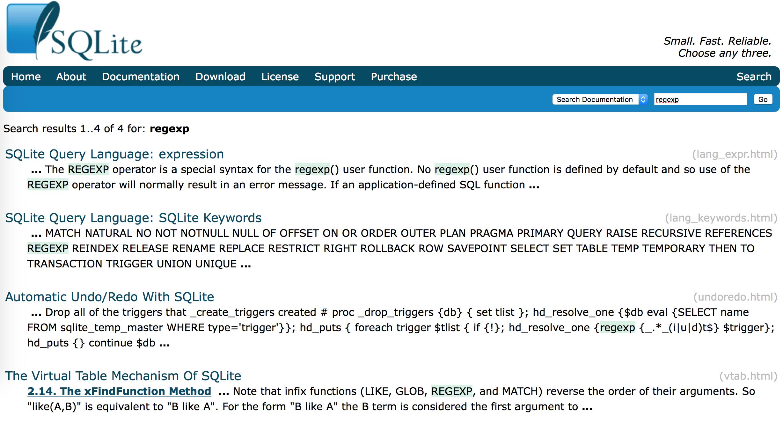 SQLite官网